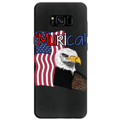 July 4th Independence Patriot Memorial Samsung Galaxy S8 Case Designed By Koopshawneen
