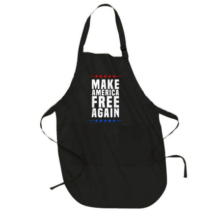 Make America Free Again Full-length Apron Designed By Koopshawneen