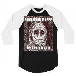 ghost meme is back!!! 3/4 Sleeve Shirt | Artistshot