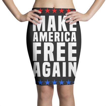 Make America Free Again Pencil Skirts Designed By Koopshawneen