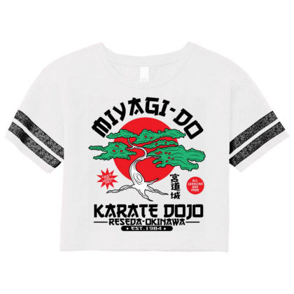 Miyagi Do Karate Dojo Scorecard Crop Tee Designed By Koopshawneen