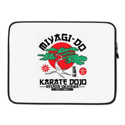 Miyagi Do Karate Dojo Laptop Sleeve Designed By Koopshawneen