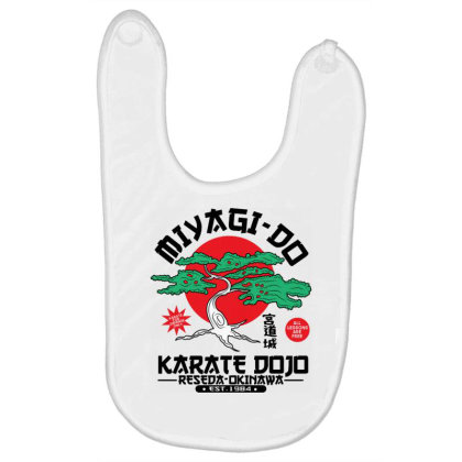 Miyagi Do Karate Dojo Baby Bibs Designed By Koopshawneen