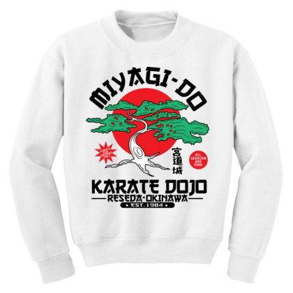 Miyagi Do Karate Dojo Youth Sweatshirt Designed By Koopshawneen