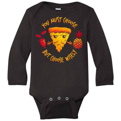 Pizza Knight Long Sleeve Baby Bodysuit Designed By Koopshawneen