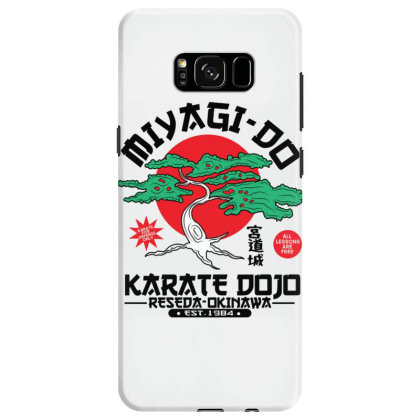 Miyagi Do Karate Dojo Samsung Galaxy S8 Case Designed By Koopshawneen