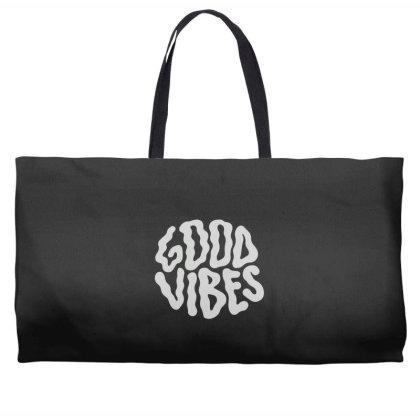 Good Vibes Weekender Totes Designed By Gudalbosok