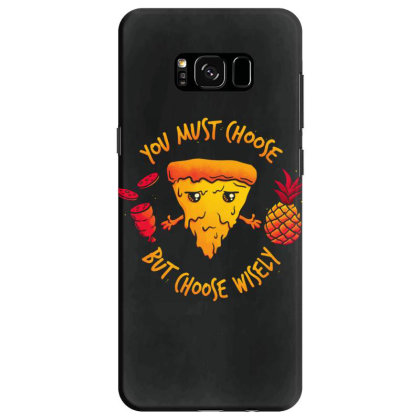 Pizza Knight Samsung Galaxy S8 Case Designed By Koopshawneen
