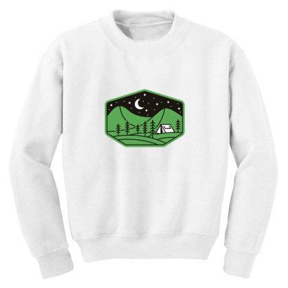 Green Camp Youth Sweatshirt Designed By Gudalbosok