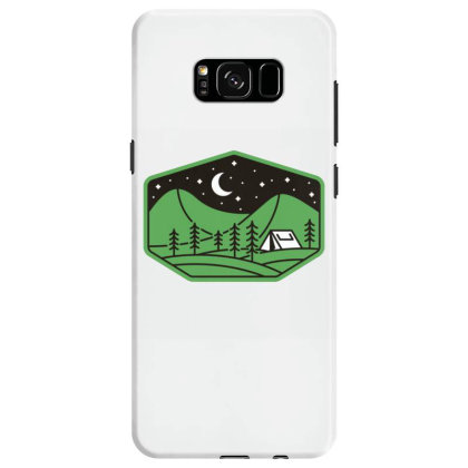 Green Camp Samsung Galaxy S8 Case Designed By Gudalbosok