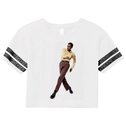 Cross Step Leon Bridges Scorecard Crop Tee Designed By Cahayadianirawan