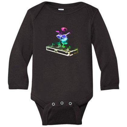 House Cat Long Sleeve Baby Bodysuit Designed By Gudalbosok
