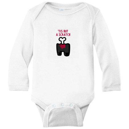 Impostor Scratch Long Sleeve Baby Bodysuit Designed By Gudalbosok