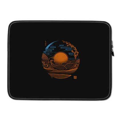 Japan Chillout Laptop Sleeve Designed By Gudalbosok