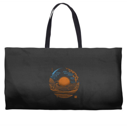 Japan Chillout Weekender Totes Designed By Gudalbosok