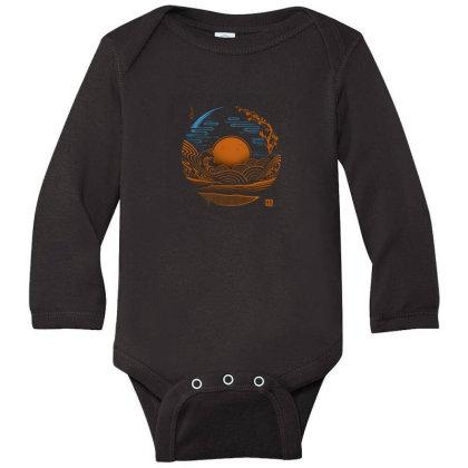 Japan Chillout Long Sleeve Baby Bodysuit Designed By Gudalbosok