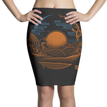 Japan Chillout Pencil Skirts Designed By Gudalbosok