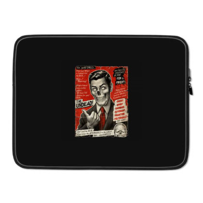 Join The Undead Laptop Sleeve Designed By Gudalbosok