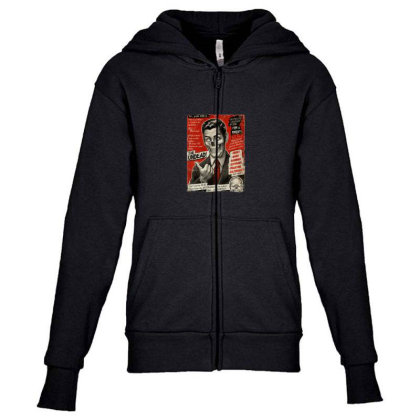 Join The Undead Youth Zipper Hoodie Designed By Gudalbosok