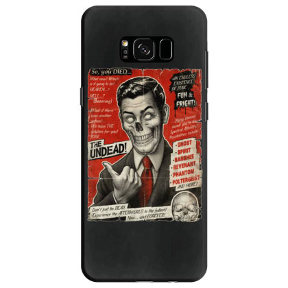 Join The Undead Samsung Galaxy S8 Case Designed By Gudalbosok