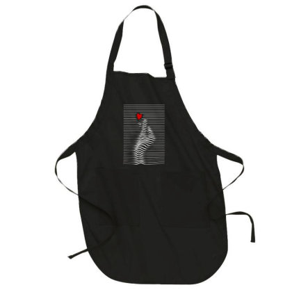 Love Sign Full-length Apron Designed By Gudalbosok
