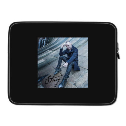 Sting Sticker Laptop Sleeve Designed By Nugrahadamanik