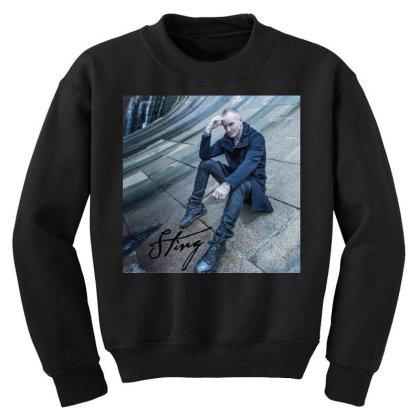 Sting Sticker Youth Sweatshirt Designed By Nugrahadamanik