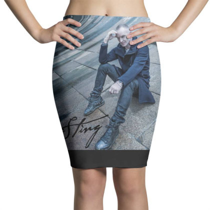 Sting Sticker Pencil Skirts Designed By Nugrahadamanik