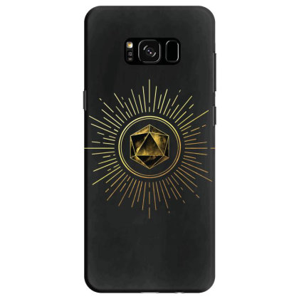 Block Prism Gold Shinny Sticker Samsung Galaxy S8 Case Designed By Nugrahadamanik