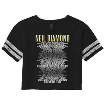 Love This 50 Years Anniversary Dates 2017 Neil Diamond Sticker Scorecard Crop Tee Designed By Nugrahadamanik