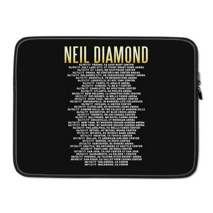 Love This 50 Years Anniversary Dates 2017 Neil Diamond Sticker Laptop Sleeve Designed By Nugrahadamanik