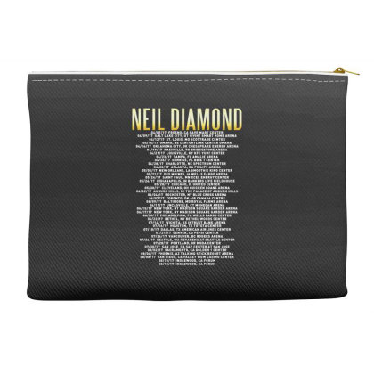Love This 50 Years Anniversary Dates 2017 Neil Diamond Sticker Accessory Pouches Designed By Nugrahadamanik