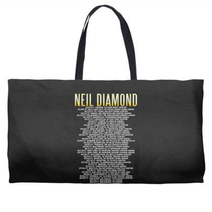 Love This 50 Years Anniversary Dates 2017 Neil Diamond Sticker Weekender Totes Designed By Nugrahadamanik