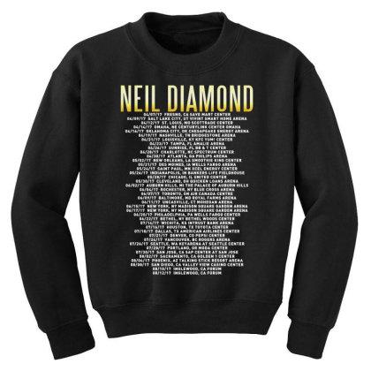 Love This 50 Years Anniversary Dates 2017 Neil Diamond Sticker Youth Sweatshirt Designed By Nugrahadamanik