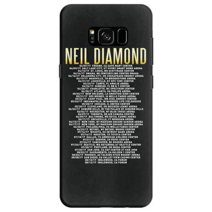 Love This 50 Years Anniversary Dates 2017 Neil Diamond Sticker Samsung Galaxy S8 Case Designed By Nugrahadamanik