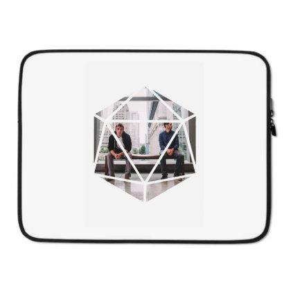 Block Prism Sticker Laptop Sleeve Designed By Nugrahadamanik