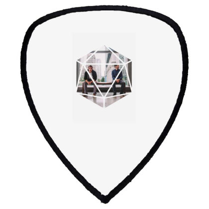 Block Prism Sticker Shield S Patch Designed By Nugrahadamanik