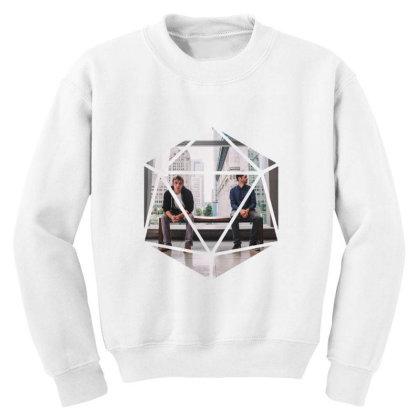 Block Prism Sticker Youth Sweatshirt Designed By Nugrahadamanik