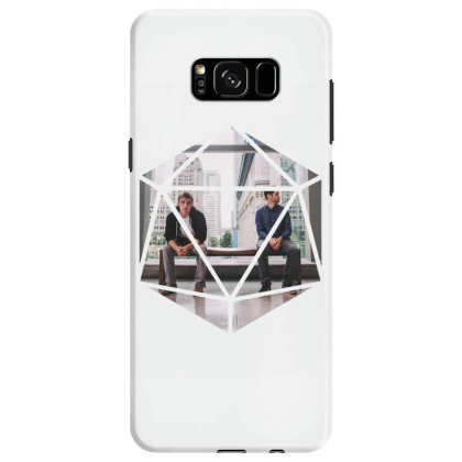 Block Prism Sticker Samsung Galaxy S8 Case Designed By Nugrahadamanik