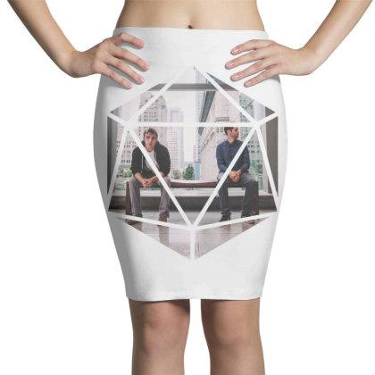 Block Prism Sticker Pencil Skirts Designed By Nugrahadamanik