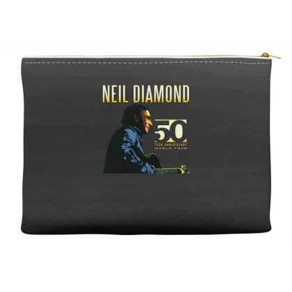 50 Years Anniversary 2017 Neil Diamond Vector Accessory Pouches Designed By Nugrahadamanik
