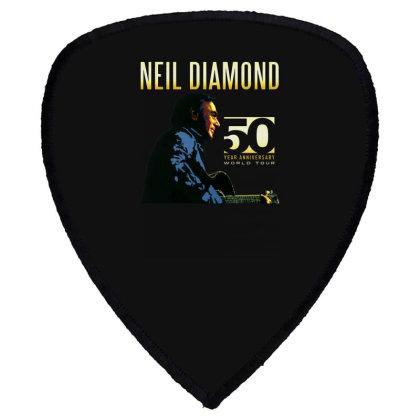 50 Years Anniversary 2017 Neil Diamond Vector Shield S Patch Designed By Nugrahadamanik