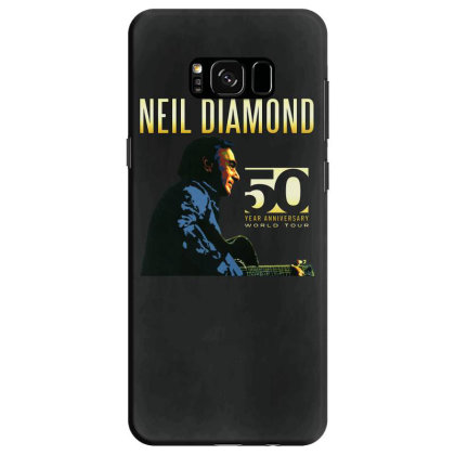 50 Years Anniversary 2017 Neil Diamond Vector Samsung Galaxy S8 Case Designed By Nugrahadamanik
