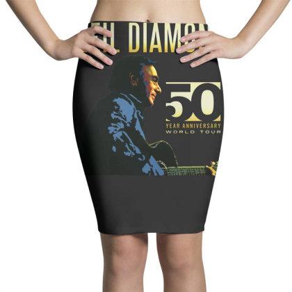 50 Years Anniversary 2017 Neil Diamond Vector Pencil Skirts Designed By Nugrahadamanik