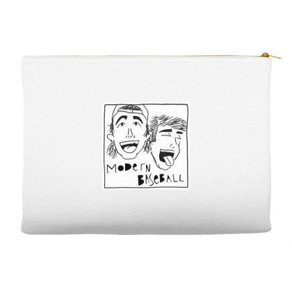 Laughing Modern Baseball Sticker Accessory Pouches Designed By Nugrahadamanik