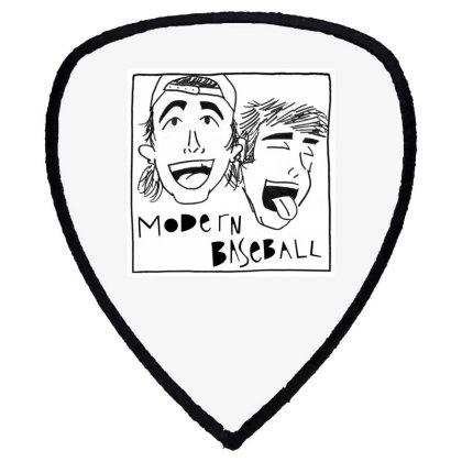 Laughing Modern Baseball Sticker Shield S Patch Designed By Nugrahadamanik
