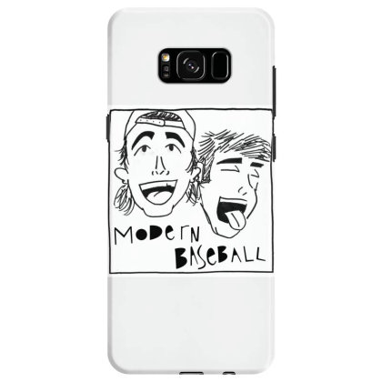 Laughing Modern Baseball Sticker Samsung Galaxy S8 Case Designed By Nugrahadamanik