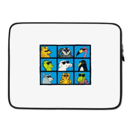 All Glasses Cute Friend Modern Baseball Laptop Sleeve Designed By Nugrahadamanik