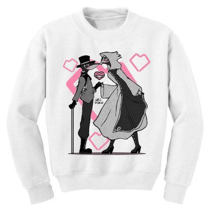 Plague Mask Snooker Youth Sweatshirt Designed By J D.c. Illustrations