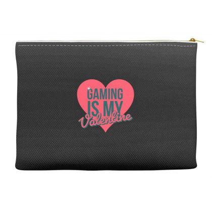 Gaming Is My Valentine Accessory Pouches Designed By Cloudystars